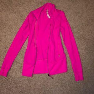 Lululemon Size 4 hot pink jacket.